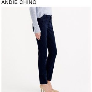 NWT NEW JCREW Annie Chino, Color: Navy, Size: 6